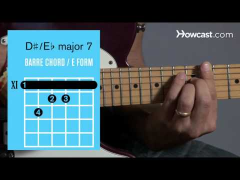 how-to-play-e♭/-d-♯-major-7-barre-chord-|-guitar-lessons