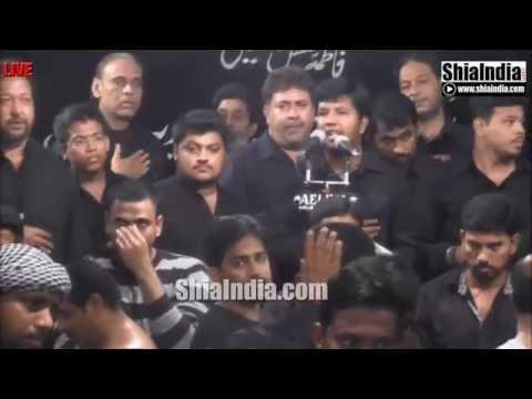 18th Safar Majlis of Anjuman-e-Hyderia From Ibadath Khana-e-Hussaini 1437-2015-16
