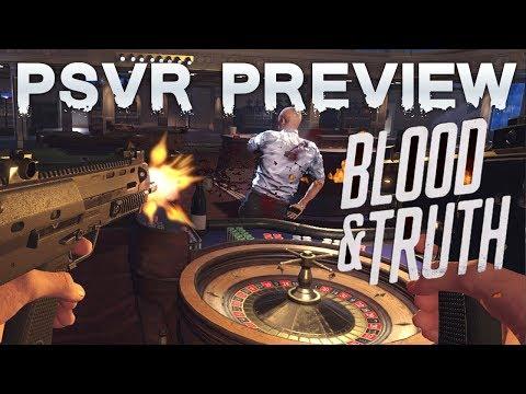 Blood & Truth (PSVR) preview | Playstation VR