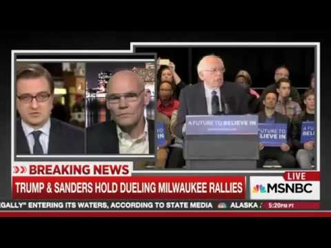 James Carville Schools Chris Hayes on being a Democrat