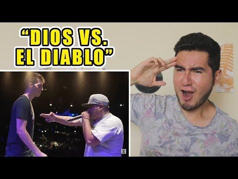 """""""DIOS VS. EL DIABLO""""   CHUTY VS. ACZINO - GOD LEVEL 2018 (VIDEO REACCIÓN)"""