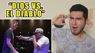 dios vs  el diablo    chuty vs  aczino   god level 2018  video reacci  n