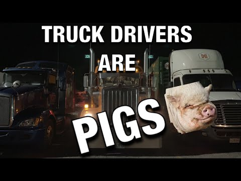 "2019 W900 TA TRUCK STOP ""YOU GUYS ARE PIGS"" 🐖 TA EMPLOYEE"