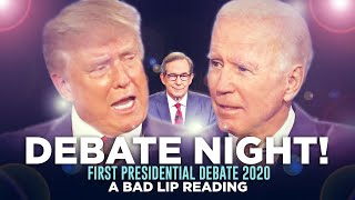 """DEBATE NIGHT 2020!"" - A Bad Lip Reading of the First Presidential Debate of 2020"