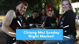 Street Food, Fanny Packs, and New Friends! Best Chiang Mai night Market experience!