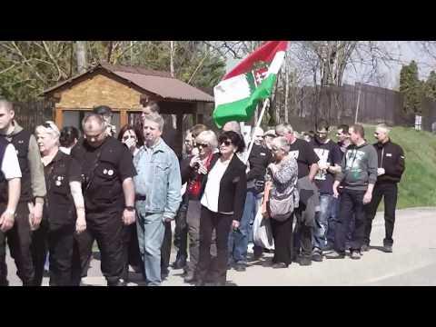 SÓLYMOSI ESZTER EMLÉKMENET TISZAESZLÁR 2017 ÁPRILIS 1 - YouTube