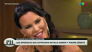 ¿Cómo conquistó Mauro Zárate a Natalie Weber? - PH Podemos Hablar 2019