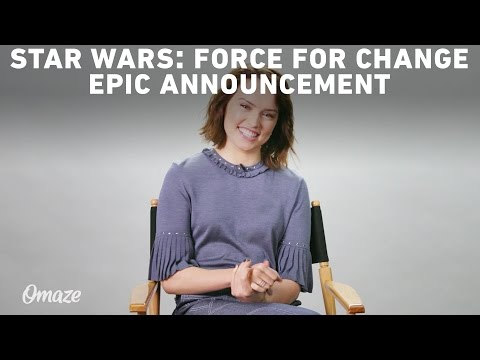 Download Youtube: Mark Hamill & Daisy Ridley's Epic Star Wars: Force For Change Announcement
