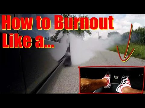 How to BURNOUT - This EPIC Instructor Teaches You Everything You Need to do a Burnout in ANY Car