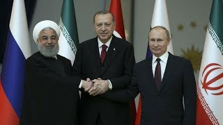 'Türkiye-Rusya-İran Üçlü Zirvesi' sonrası basın toplantısı düzenleniyor