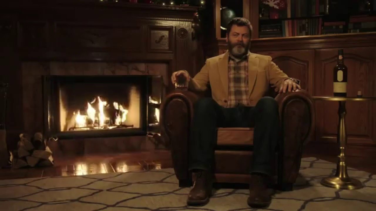 A Very Nick Offerman Christmas - YouTube