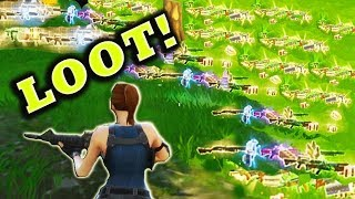 Fortnite Battle Royale Best And Funny Moments (Loot Glitch)