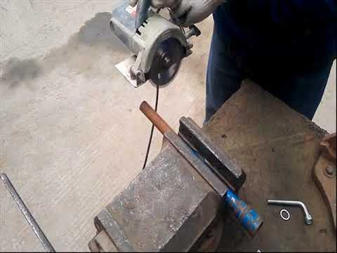 How a good quality T.C.T wood cut saw blade was made.