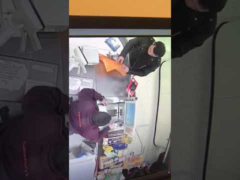 Sainsbury Staff Thief. Double Team