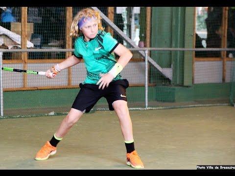 """TENNIS - """"TOP 10-12"""" 2017 au Tennis Club Bressuire (79) FRANCE"""