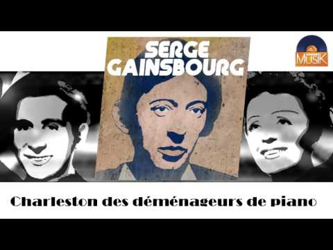 serge gainsbourg charleston des d m nageurs de piano hd officiel seniors musik youtube. Black Bedroom Furniture Sets. Home Design Ideas