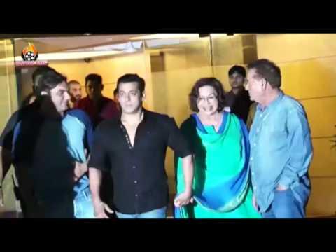 UNCUT: Salman Khan Birthday Party 2016 With Bollywood Celebs !!!