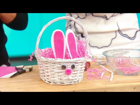 Rachael Ray Makes a Bunny Easter Basket With Eva Amurri Martino Susan Sarandon's Daughter