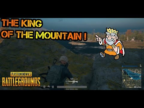 Playerunknown´s Battlegrounds | THE KING OF THE MOUNTAIN