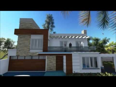 Plan de villa moderne en tunisie perfect plan de villa for Les facades des villas modernes