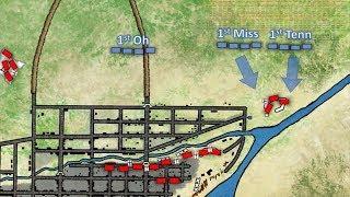 La Batalla de Monterrey 1846 mapa de batalla animado