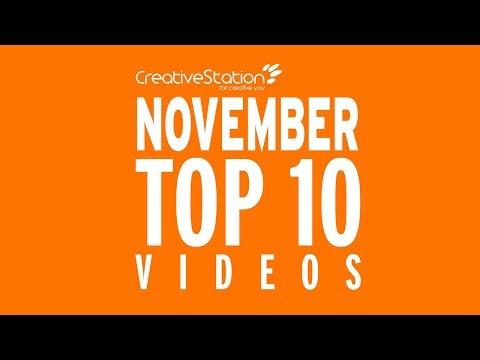 CreativeStation November 2017 Top 10 Video Arts