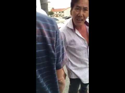 11/6/2016 kẻ lưu manh lừa đảo Nguyễn Chính Nhân bị vạch mắt giữa nơi công cộng