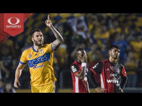 Resumen Tigres 2 - 0 Atlas | Clausura 2018 - Jornada 8 | Televisa Deportes