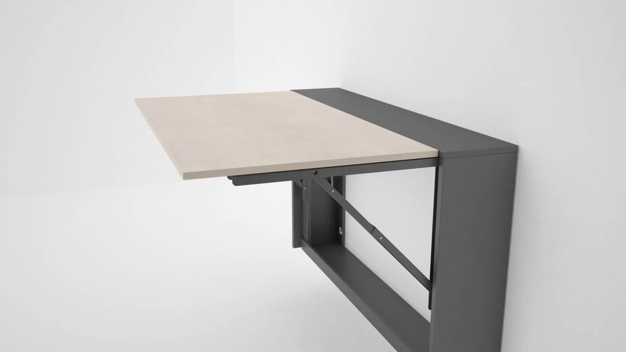 Mesa cocina plegable para radiador - YouTube