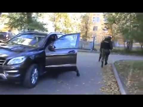 Съемка задержания киллеров в Иркутске  так работает СОБР