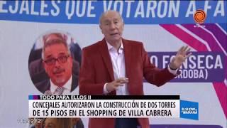 Aprobarón la construcción de torres en el Córdoba shopping