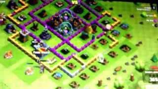 |Clash of clans|attaque avec P.K.K.A.,guérisseuse,dragons❗️❗️❗️