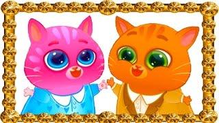 Мультик про КОТЯТ / КОТЕНОК БУБУ женится. Котик делает предложение мисс кошечке КАТЕ #ПУРУМЧАТА