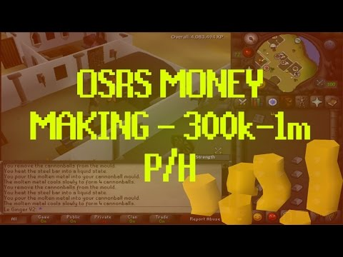 OSRS MONEY MAKING 300k-1m P/H!