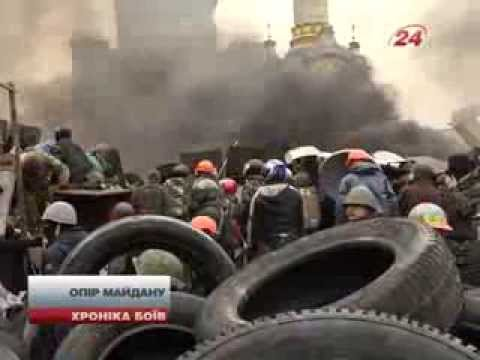 Elite Forces of disgraced President Yanukovych are killing unarmed protesters and bystanders in Kiev
