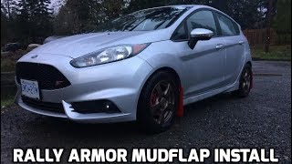 Video Fiesta ST Rally Armor Mudflap Install download MP3, 3GP, MP4, WEBM, AVI, FLV Juli 2018