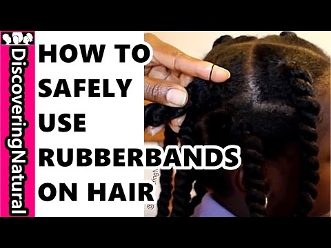 HOW TO USE RUBBERBAND ON NATURAL