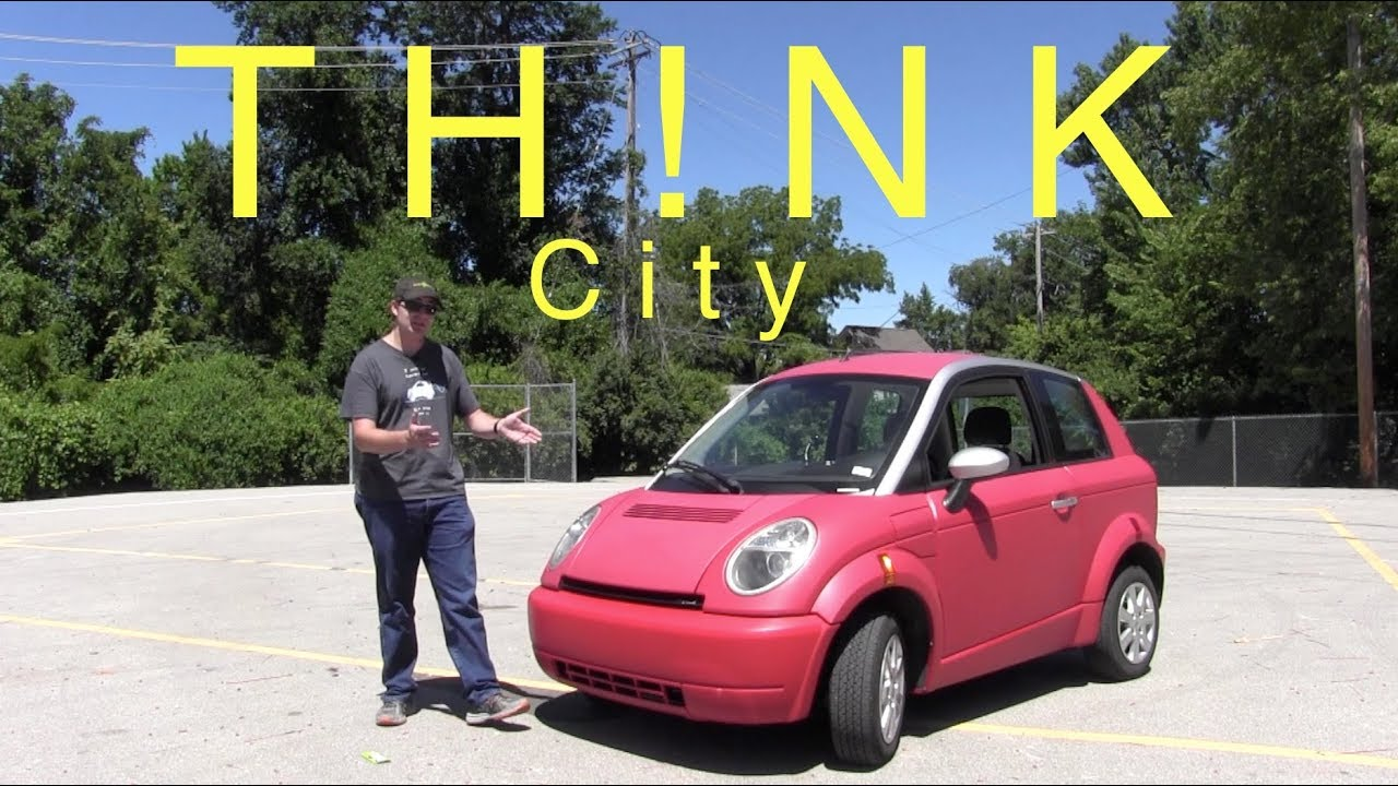 The Th Nk City Is A Tiny Electric Car From Norway