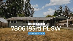 Edmonds Homes For Sale | 7806 193rd PL SW Edmonds, WA