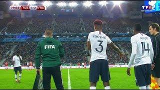 Presnel Kimpembe vs Russia (Debut for France) 2017-18