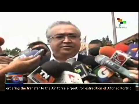 Former Guatemala President Alfonso Portillo extradited to US