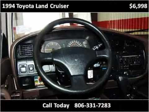 1994 toyota land cruiser used cars amarillo tx youtube for Integrity motors amarillo tx