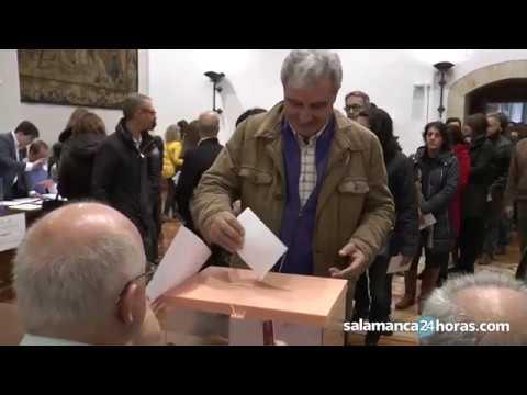 La Universidad de Salamanca elige a su nuevo Rector