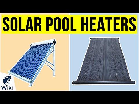 10 Best Solar Pool Heaters 2020