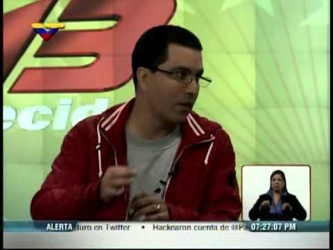 Jorge Arreaza: suspensión momentánea de Internet se hizo para proteger de hackers a web del CNE