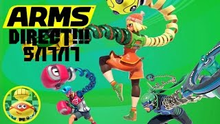 Arms Direct Reaction 5/17/17  : with FeelzGaming