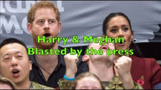 Harry and Meghan at war with the press - Have the media turned even more against them?
