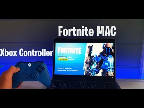 How to play good fortnite mobile with xbox controller on mac