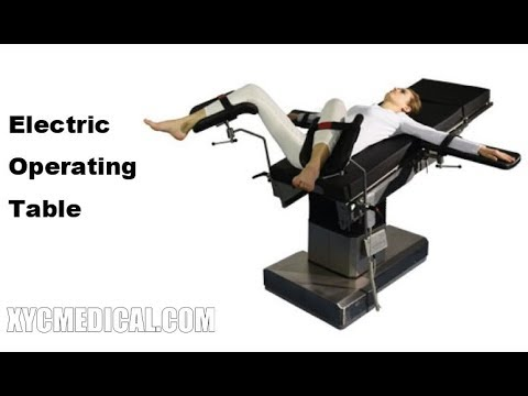 Surgical Operating Bed Electric Ot Bed Operating Room Table Youtube