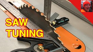 HOW TO TUNE A TABLE SAW